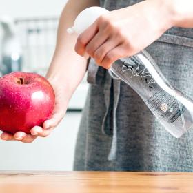 ドウム非化学洗浄水株式会社の取り扱い商品「【果物の残留農薬を除去】SHUPPA くだもの320ml」の画像