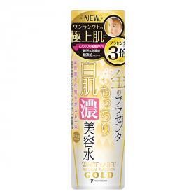 「ホワイトラベル 金のプラセンタもっちり白肌濃美容水(ミックコスモ★ファンサイト)」の商品画像