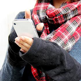 「手が暖かいって幸せです♪春まで大活躍のコランコランのハンドウォーマー!(逸品マーケット)」の商品画像