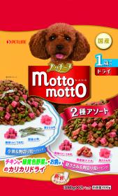 プッチーヌmottomotto ドライ 1歳から小魚&鶏ささみ入り 300g×2の商品画像