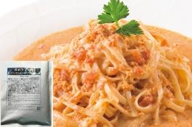 「紅ズワイガニのトマトクリームソース(株式会社ポポラマーマ)」の商品画像