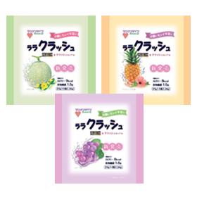 「蒟蒻畑ララクラッシュ(試供品)(株式会社マンナンライフ)」の商品画像