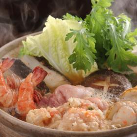 株式会社かば田食品の取り扱い商品「かば田のめんたい入り寄せ鍋スープ」の画像