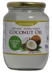 エクーア オーガニック エキストラバージンココナッツオイルの商品画像