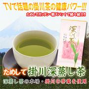 「ためして掛川茶 100g×10個入り(株式会社オールライフサービス)」の商品画像