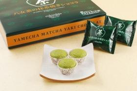 八女茶の抹茶焼きショコラ12個入の商品画像