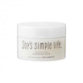 「Soy's simple life  生豆乳クレンジングバーム(豆腐の盛田屋)」の商品画像