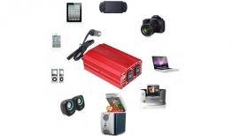 「 カーインバーター 300W シガーソケット 車載充電器 USB 2ポート AC(株式会社べステックグループ)」の商品画像の3枚目