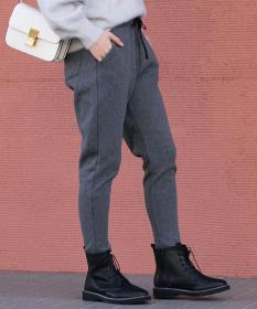 裏シャギー起毛ジョガーパンツの商品画像