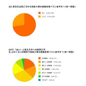 「国産小麦に関する基本アンケート調査結果(日本の麦の底力)」の商品画像