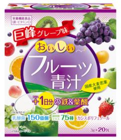 フルーツ青汁 1日分の鉄&葉酸 20包の商品画像