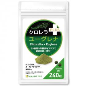 クロレラ+ユーグレナの商品画像