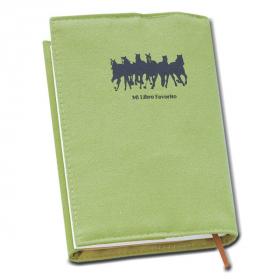 【口と足で描いた絵】 疾走してくる馬の群れをシルエットに 文庫用ブックカバーの口コミ(クチコミ)情報の商品写真