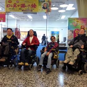 「絵画展【口と足で描いた絵~HEARTありがとう~】@東京交通会館(口と足で描く芸術家協会)」の商品画像