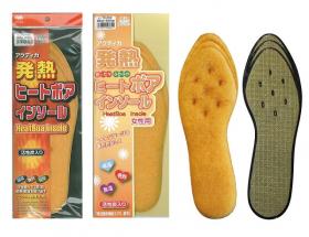 【シーズン商品】発熱ヒートボアインソールの商品画像