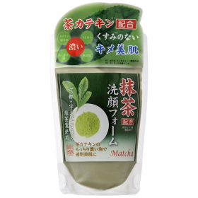 抹茶配合洗顔フォームの商品画像