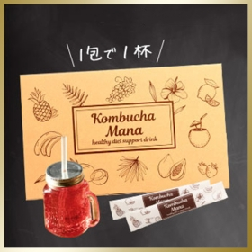 「人気モデルも大注目!100%天然由来のコンブチャ『Kombucha Mana』(株式会社エー・ジー・ジェイ)」の商品画像