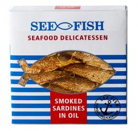 SEE FISH スモークドオイルスプラットの商品画像