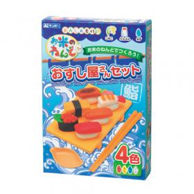 「お米のねんど おすし屋さんセット(銀鳥産業株式会社)」の商品画像
