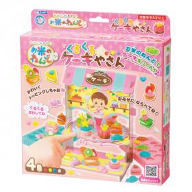 「お米のねんど くるくるケーキやさん(銀鳥産業株式会社)」の商品画像
