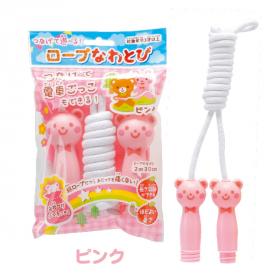 「ロープなわとび(ピンク)(銀鳥産業株式会社)」の商品画像