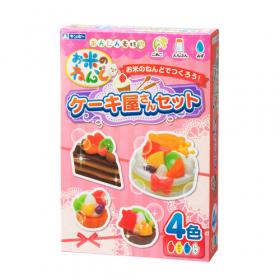 「お米のねんど ケーキ屋さんセット(銀鳥産業株式会社)」の商品画像