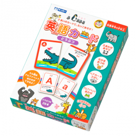 「英語カード どうぶつ(銀鳥産業株式会社)」の商品画像