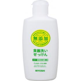 「無添加 食器洗いせっけん 370mL(ミヨシ石鹸株式会社)」の商品画像