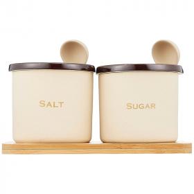 「カチカチになりにくい!シュガー&ソルトセット 300ml 保存容器(株式会社エスグロー)」の商品画像の2枚目