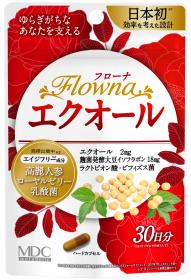 年齢とともにゆらぎがちな女性の美容と健康をサポート「フローナ エクオール」の口コミ(クチコミ)情報の商品写真