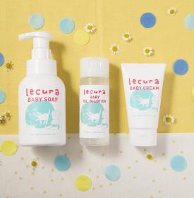 【ルクラ】ベビーソープ/ベビーUVミルクの商品画像