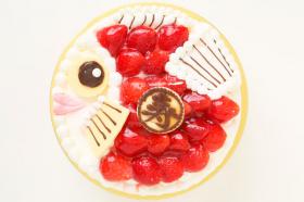 おめで鯛ケーキ 5号 15cmの商品画像