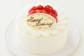 イチゴ生デコレーションケーキ 5号 15cmの商品画像