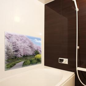「おふろポスター【風景】マグネットシート製(マグネットパーク)」の商品画像