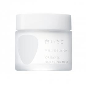 「WHITE ICHIGO オーガニック スリーピング マスク 50g(WHITE ICHIGO(ホワイトイチゴ))」の商品画像