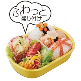 「ミニオンズ 子ども用ランチボックスふわっとお弁当1段(株式会社関通)」の商品画像