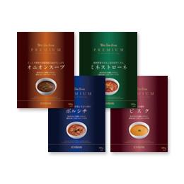 「ウィズワンスーププレミアム 4個セット(一番食品株式会社)」の商品画像