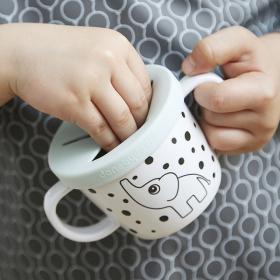 パシフィック洋行株式会社の取り扱い商品「Done by Deer シリコンスパウト&スナックカップ」の画像