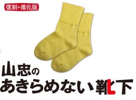 「山忠のあきらめない靴下(株式会社山忠)」の商品画像