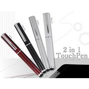 タッチペン+ボールペン(スマートフォン用)の商品画像