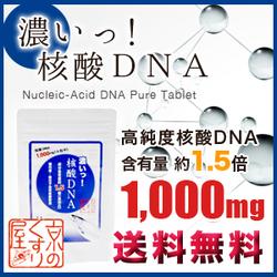「【濃いっ!核酸DNA】エイジングケア/健康維持に(株式会社 Kyoto Natural Factory)」の商品画像