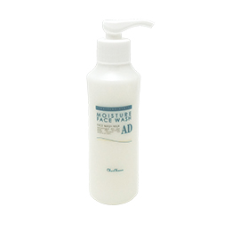 有限会社DSRの取り扱い商品「モイスチャーフェイスウォッシュAD -石けんベースで洗い上がりすっきり洗顔料-」の画像