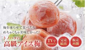 贈答品のも人気!凍らせて食べるアイス梅の商品画像