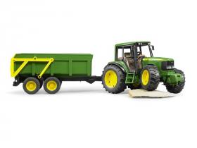 「JD 6920トラクター&グリーントレーラー(株式会社 ジョブインターナショナル)」の商品画像