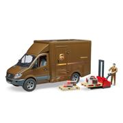 「MB UPS&フォークリフト(フィギュア付き)(株式会社 ジョブインターナショナル)」の商品画像
