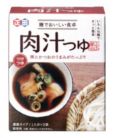 「<麺でおいしい食卓シリーズ>肉汁つゆ(正田醤油株式会社)」の商品画像