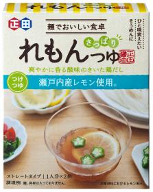 「<麺でおいしい食卓シリーズ>れもんつゆ(正田醤油株式会社)」の商品画像