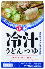 <麺でおいしい食卓>冷汁うどんつゆの口コミ(クチコミ)情報の商品写真