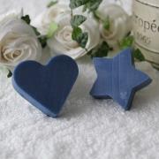藍の手作り石鹸のプチギフト(ハート・星)の商品画像