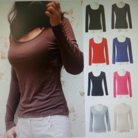 【天然の抗菌・消臭力】シルクのような着心地!シルキーバンブー抗菌ロングTシャツの商品画像